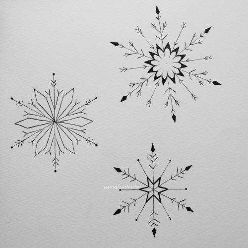snowflake tattoo on Tumblr