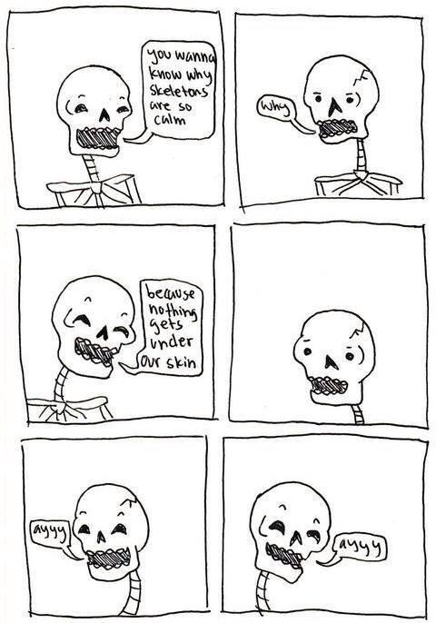 Funny Skeleton Skin