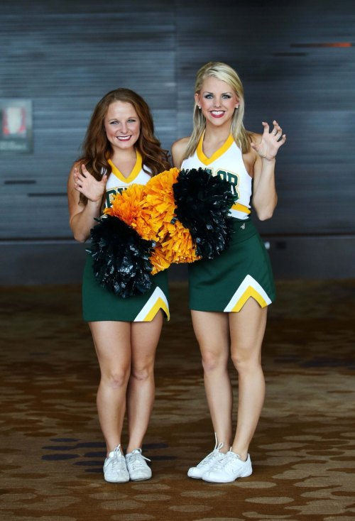 University Tennessee Cheerleading Squad