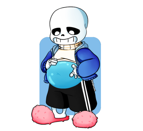 Sans Undertale Fat Belly