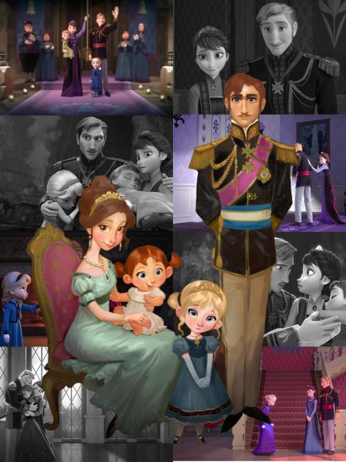 All Princess Disney Family