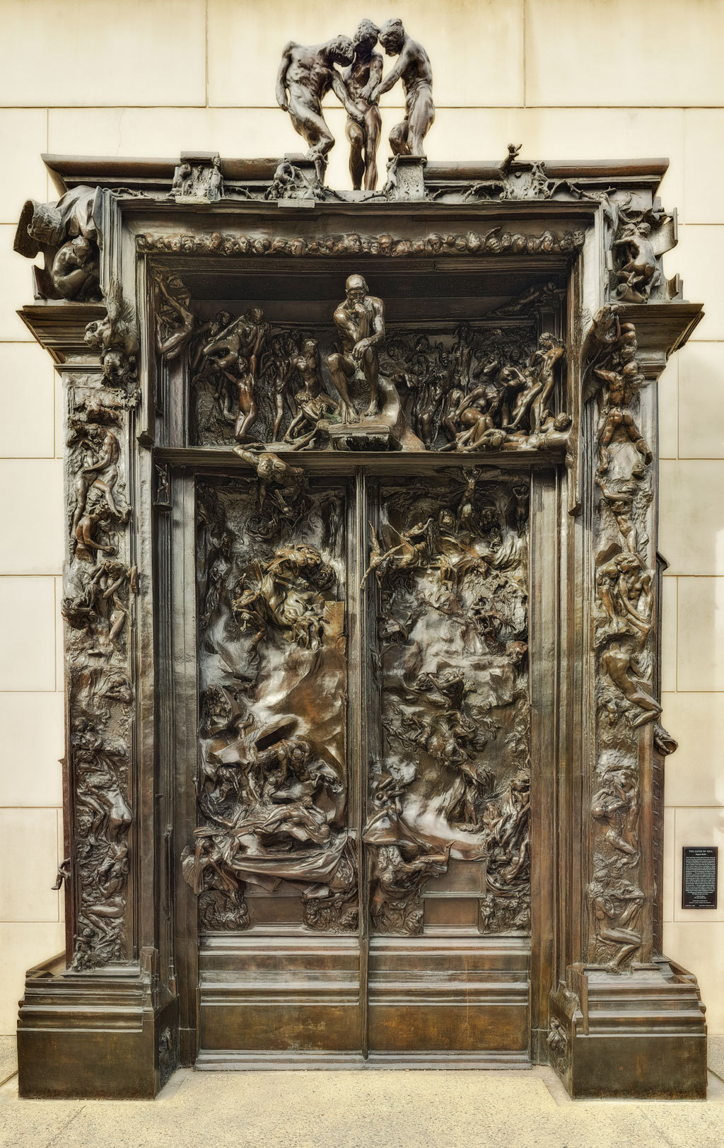 Disasterpiece Theatre  August Rodin   La Porte de l Enfer The Gates     August Rodin   La Porte de l Enfer The Gates of Hell  1880