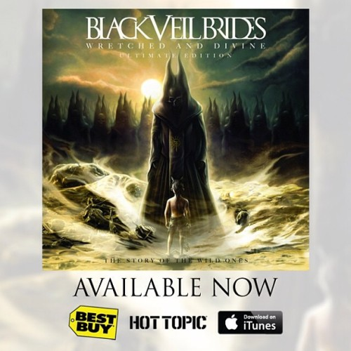 Black Veil Brides Divine Wretched Ultimate And Edition
