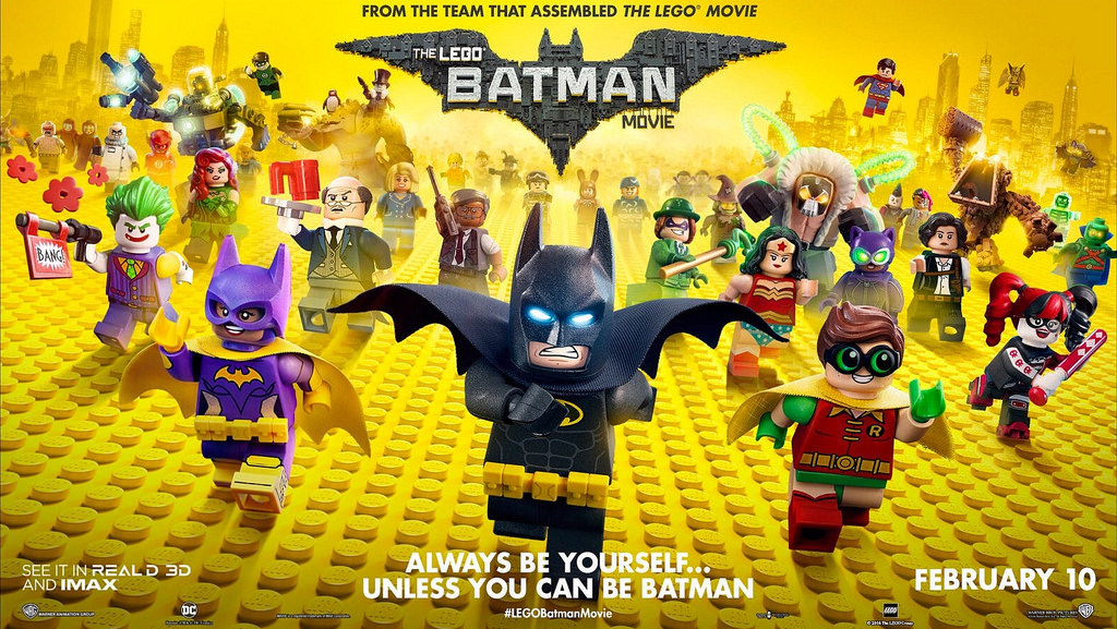 The LEGO Batman Movie Keeps the Magic of the LEGO      Sure  The LEGO Movies are movies adapted from a legendary toy brand that  previously didn t have any sort of familiar narrative to speak of and had  people