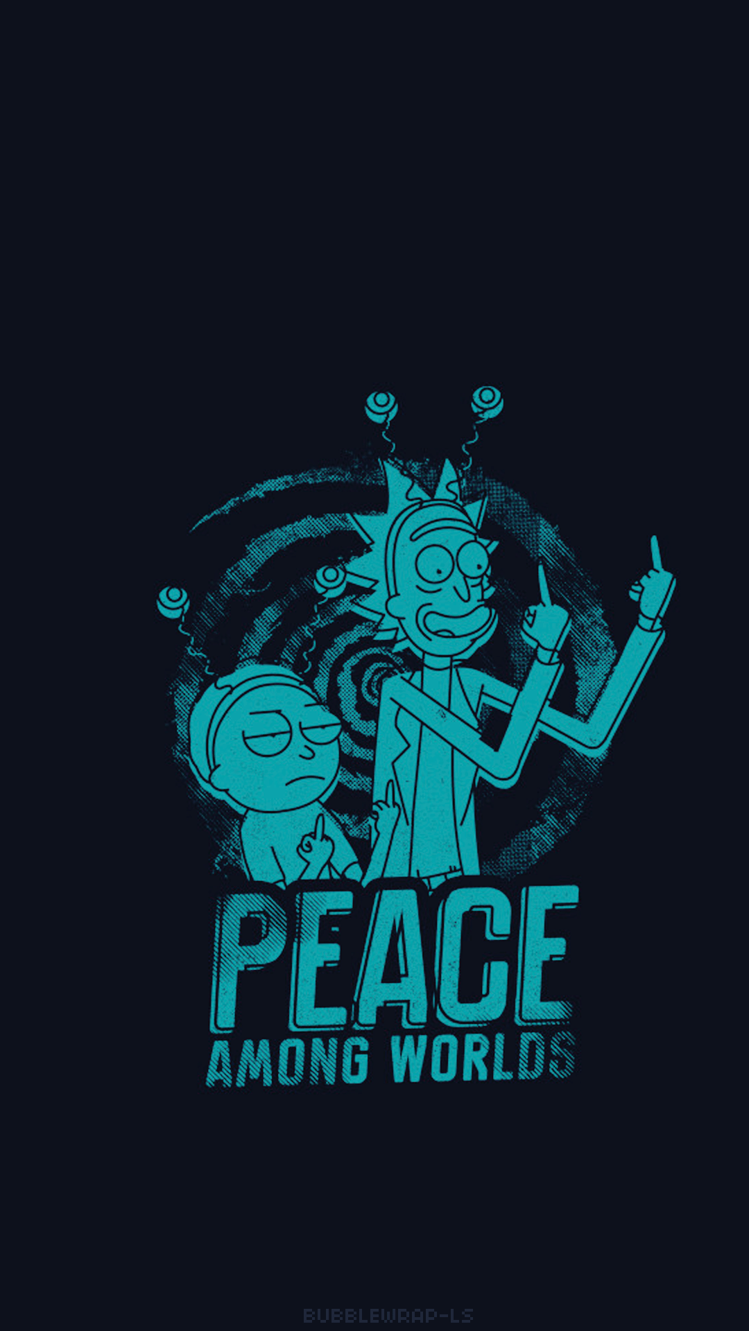 L O C K S C R E E N S     Rick and Morty
