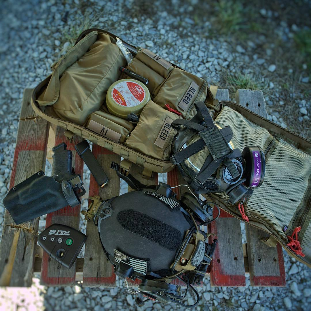 T.REX ARMS — North American Rescue stocked medic bag with ...