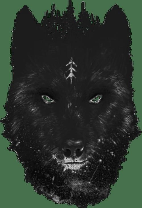 Lone Wolf Knuckle Tattoo