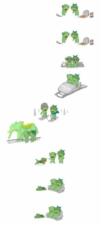 Desenho Casal De Tumblr Namorados