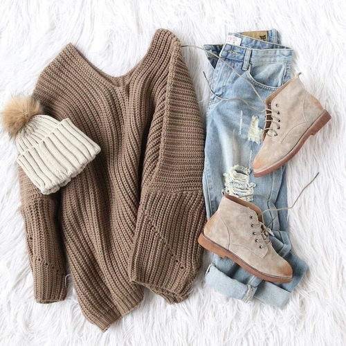 winter outfit on Tumblr