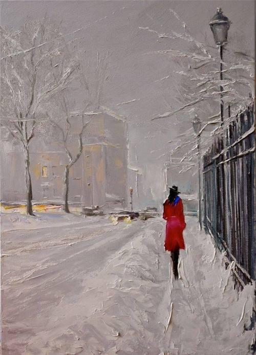 winter art on Tumblr