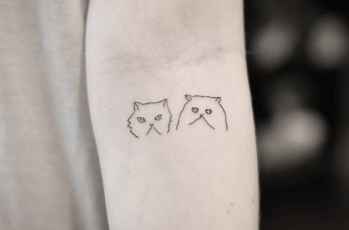 Small Cat Tattoo Tumblr