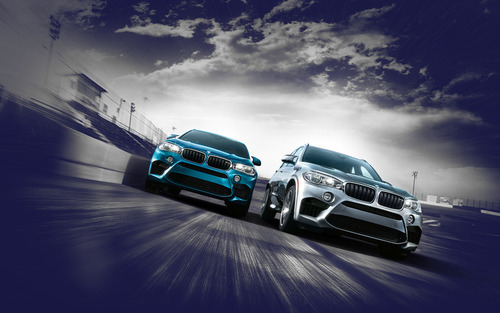 BMW USA     Wallpaper Garage BMW X5M and X6M Wallpaper Collection