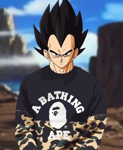 Cartoon Supreme Goku 1080x1080