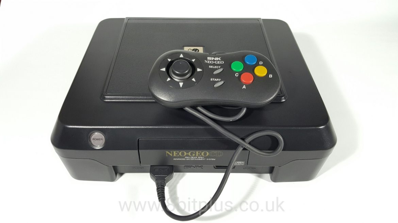 Neo Geo Cd Snk Arcade Cd Console System 8bitplus