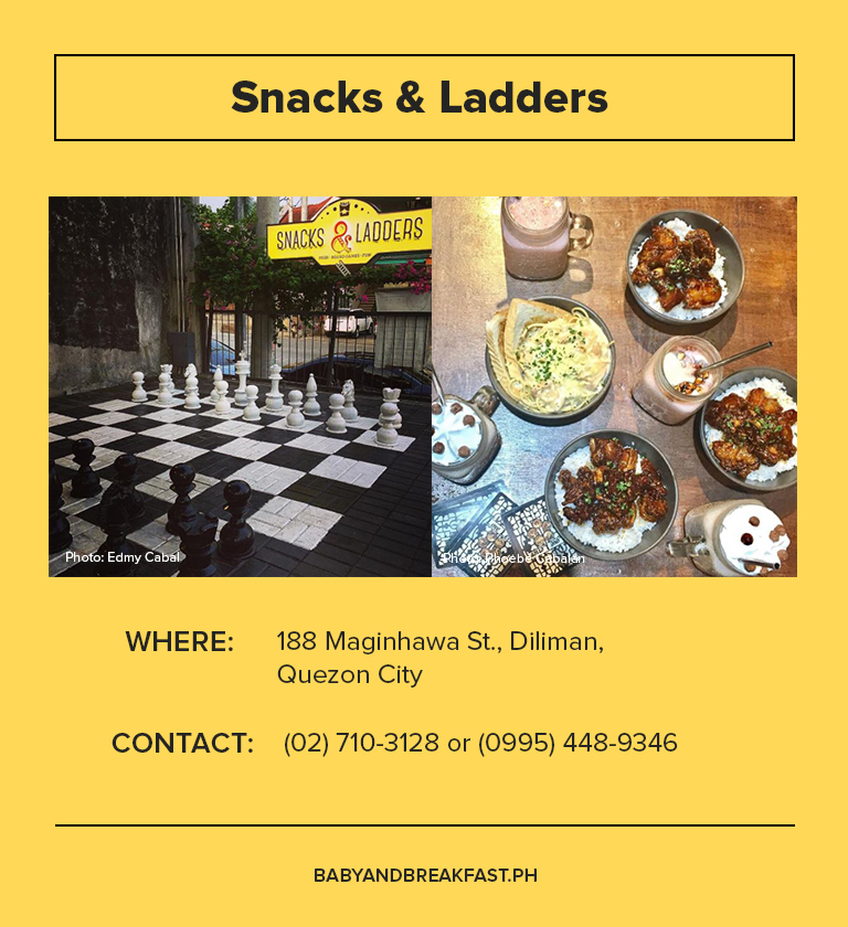 Board Games Restaurant Quezon City