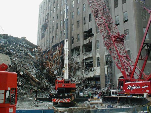 9 11 Research Building 7 S Rubble