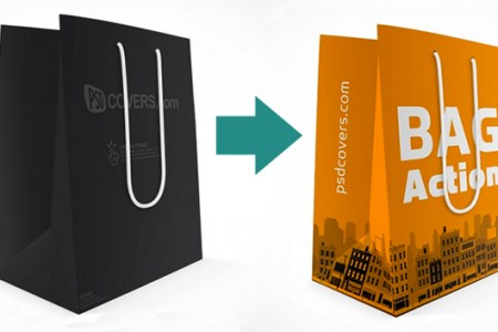 Creating professional design mock ups   The Creative Edge Use a Photoshop Action to make a 3D mockup