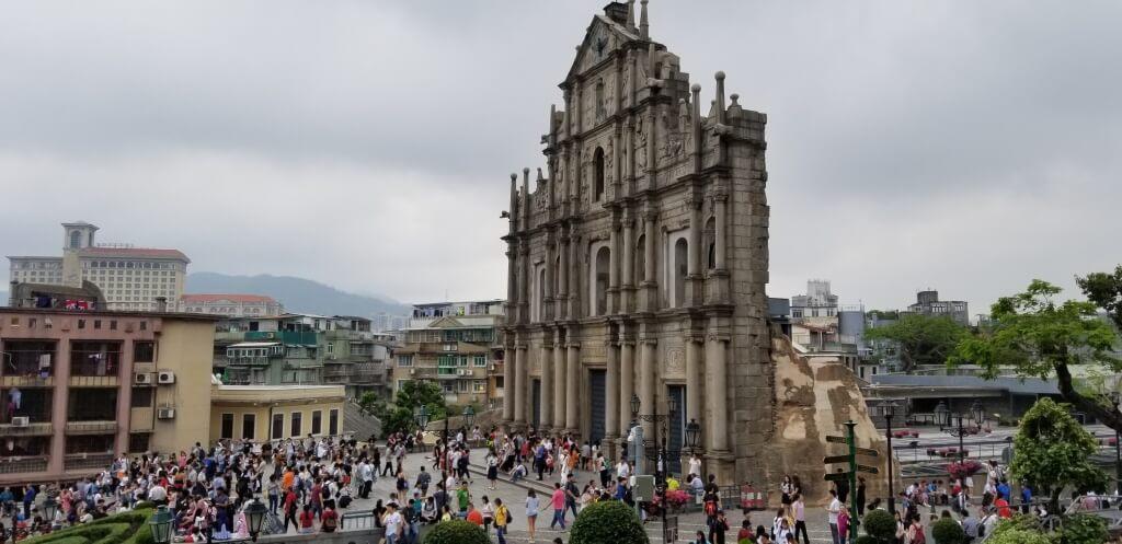 Достопримечательности Макао Китай
