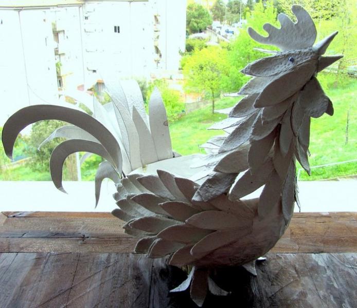 Calp Rooster برای سال جدید: 10 راه برای ریشه کن کردن دست خود را با دست خود + عکس