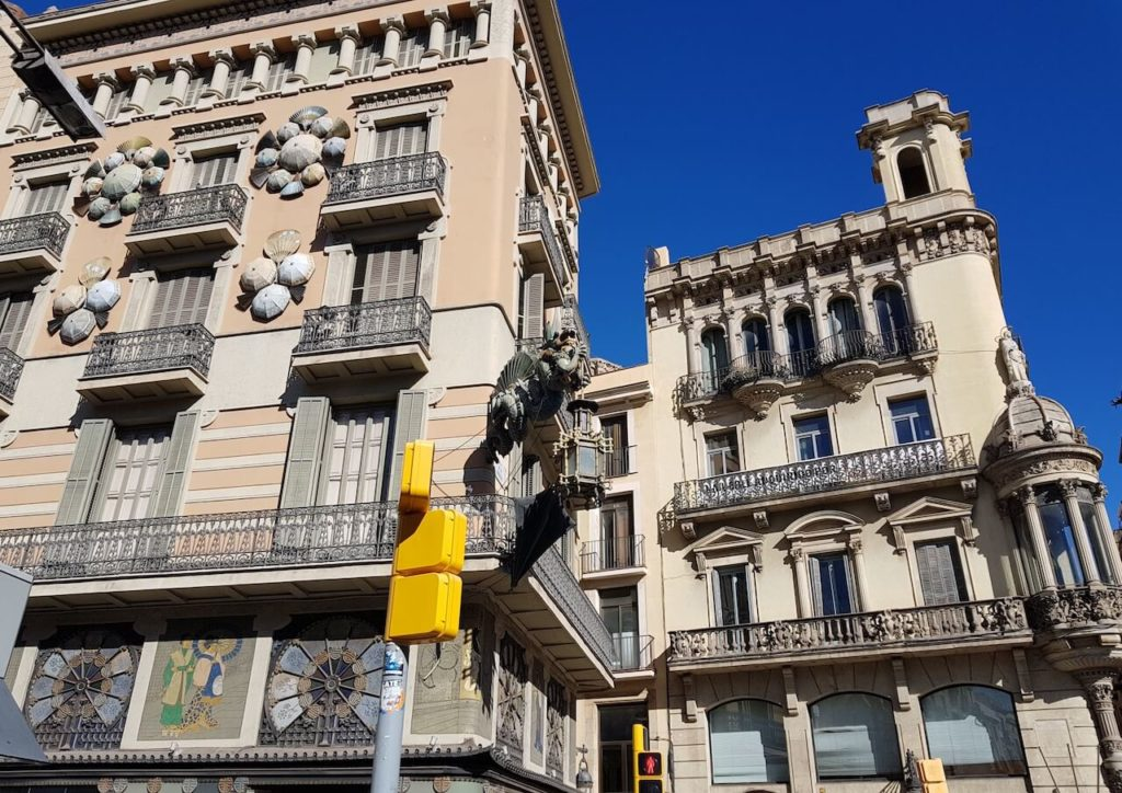Boulevard La Rambla, Barcelona