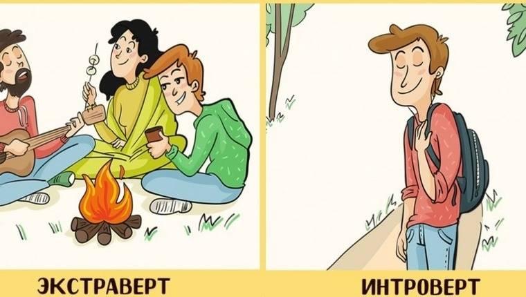 Интроверт, экстраверт, амбиверт