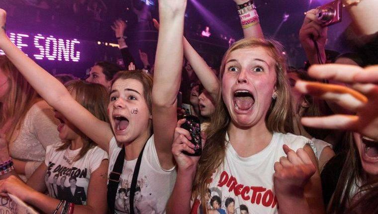 Фанаты на концерте