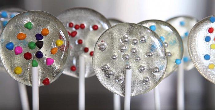 Deliciosos lollipops caseros