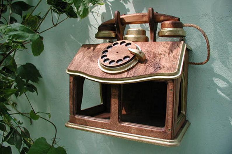 Ornamenti per il giardino fai da te - grappoli