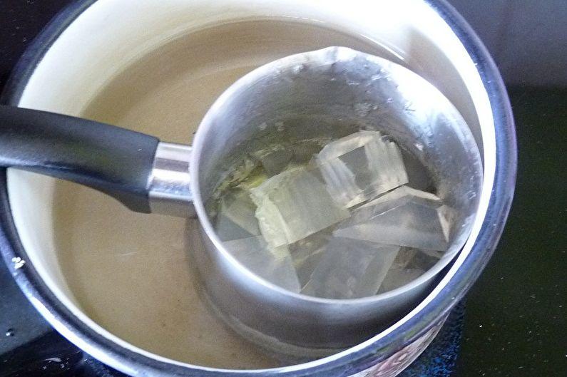 Hoe zeep thuis te koken - zeep kooktechnologie van zeepbasis