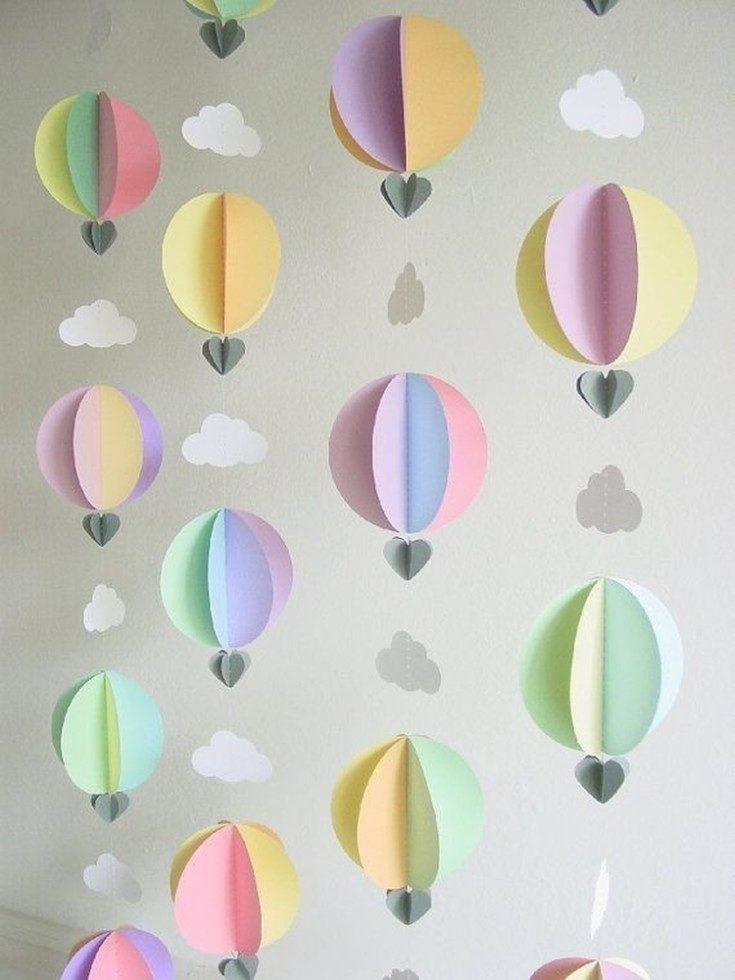 (+135 fotos) Como decorar a sala de aniversário do bebê: 105 fotos