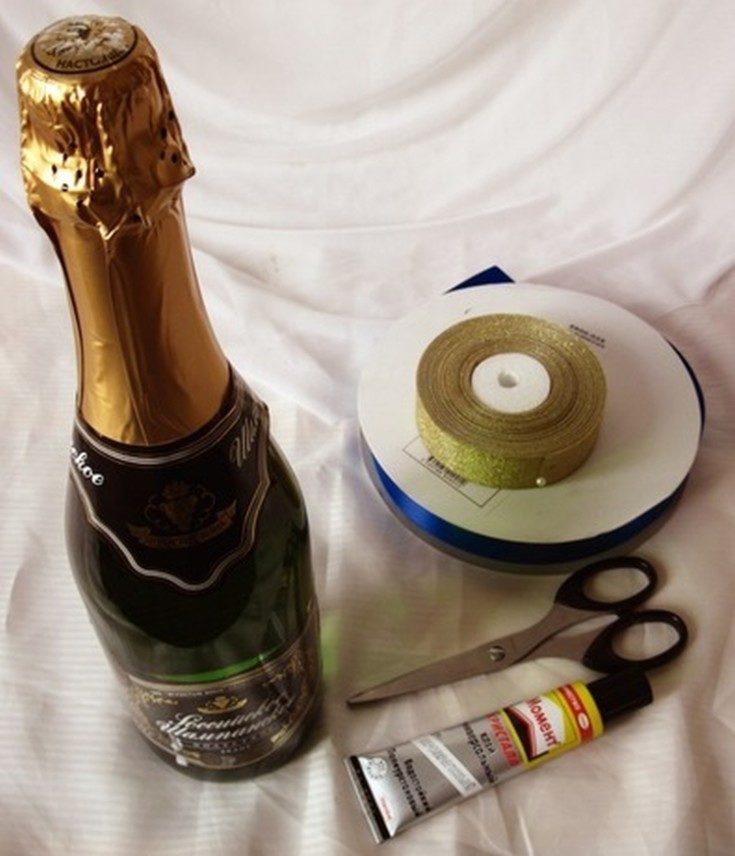 Boom perkahwinan berterusan. Hiasan wedding champagne. Bahagian 1, Foto № 31