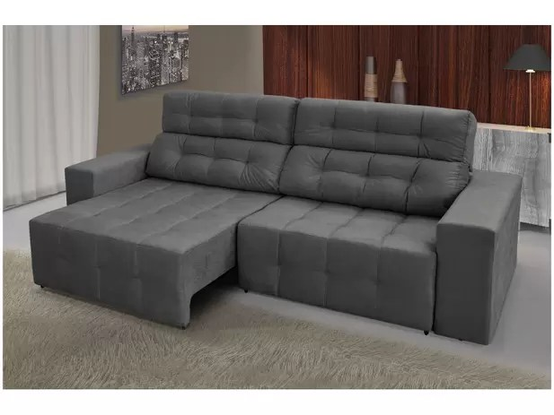 Sofa Chaise 4 Lugares