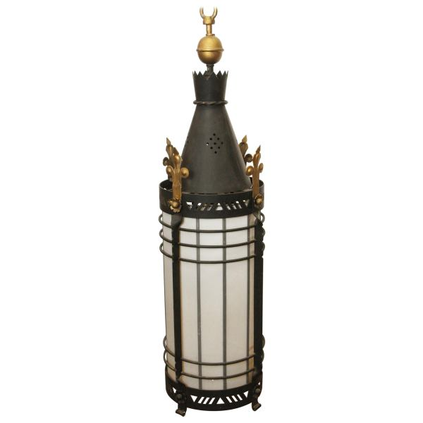 lantern pendant with shade # 77