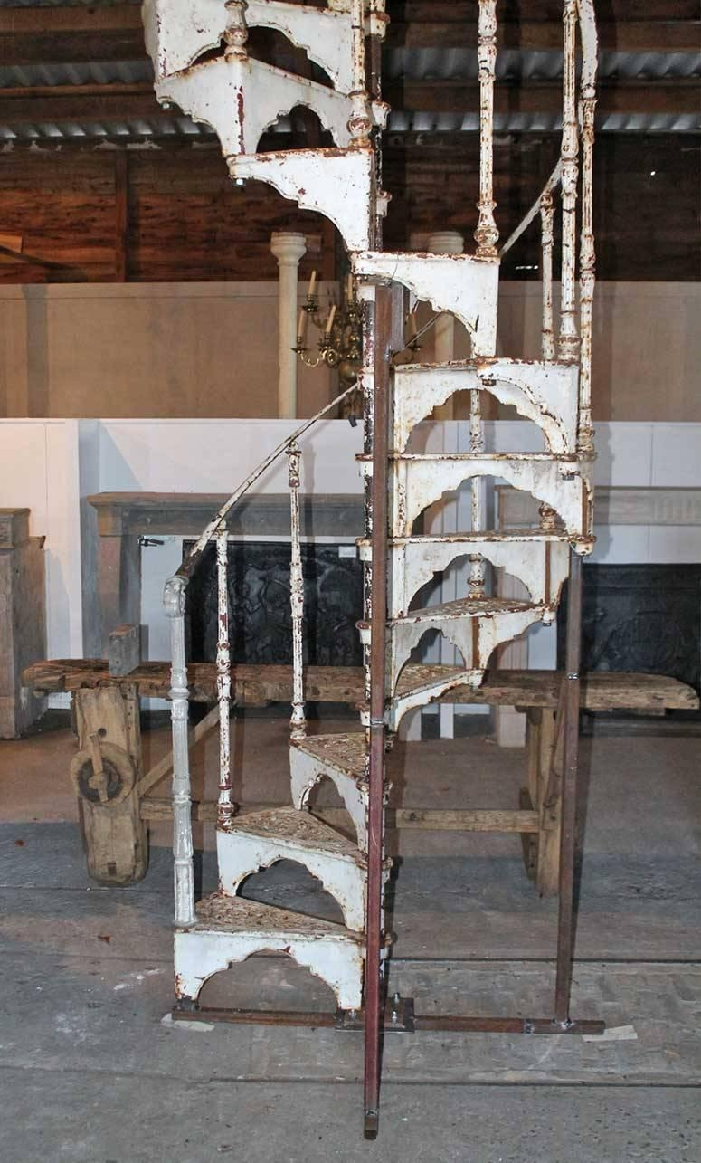 Antique Spiral Staircase 19Th Century At 1Stdibs | Spiral Staircase For Sale