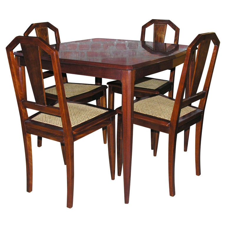 And Chairs Swivel Table Set