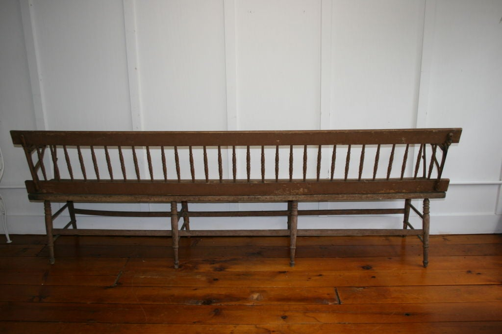 1890 S American Train Station Bench At 1stdibs
