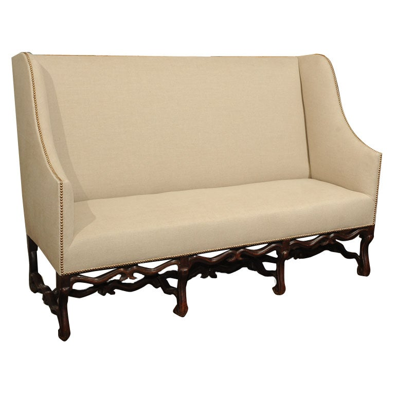 High Back Settee Dining