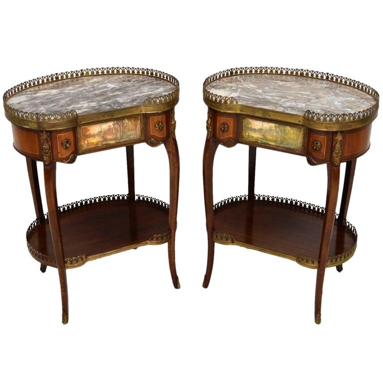- How Date Antique Furniture With Marble