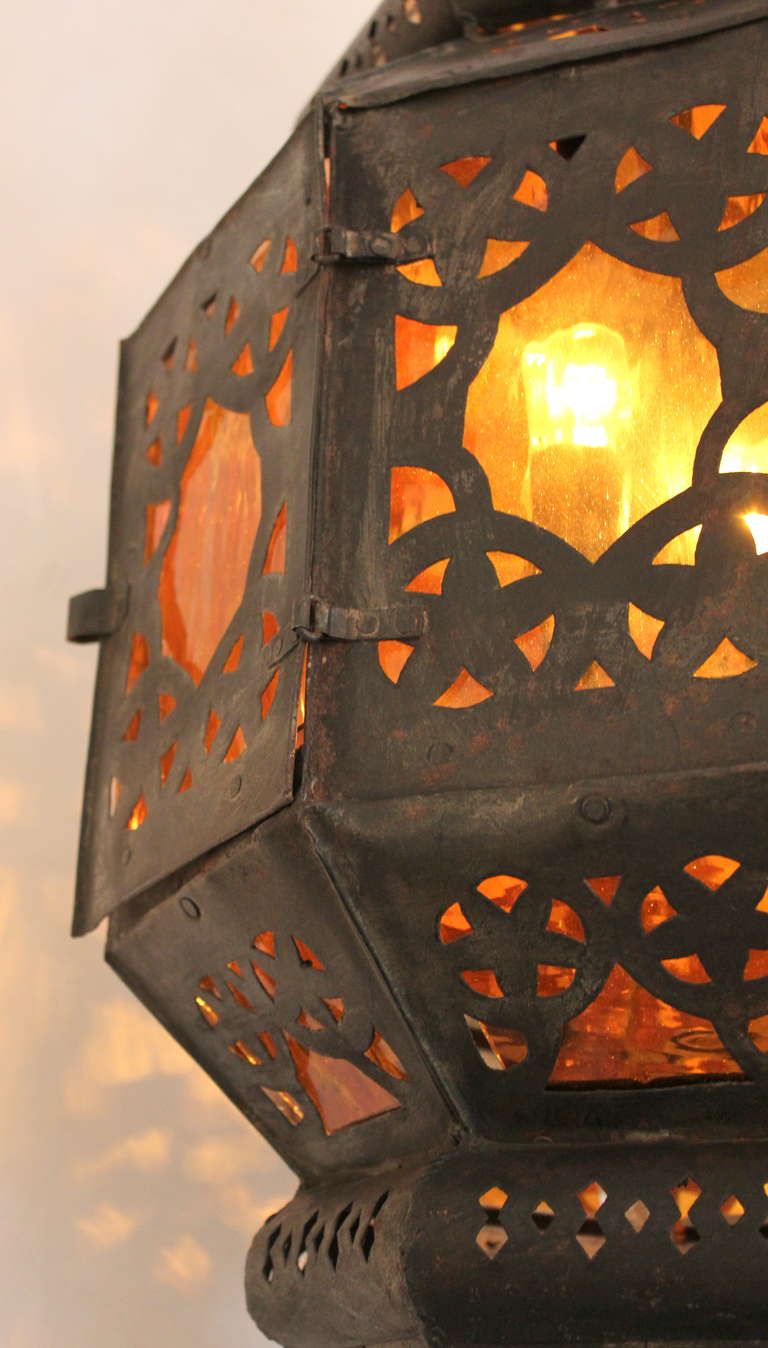 Large Vintage Mexican Lantern For Sale At 1stdibs