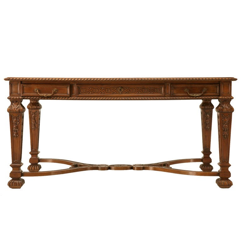 Hand Tables Wooden Carved End