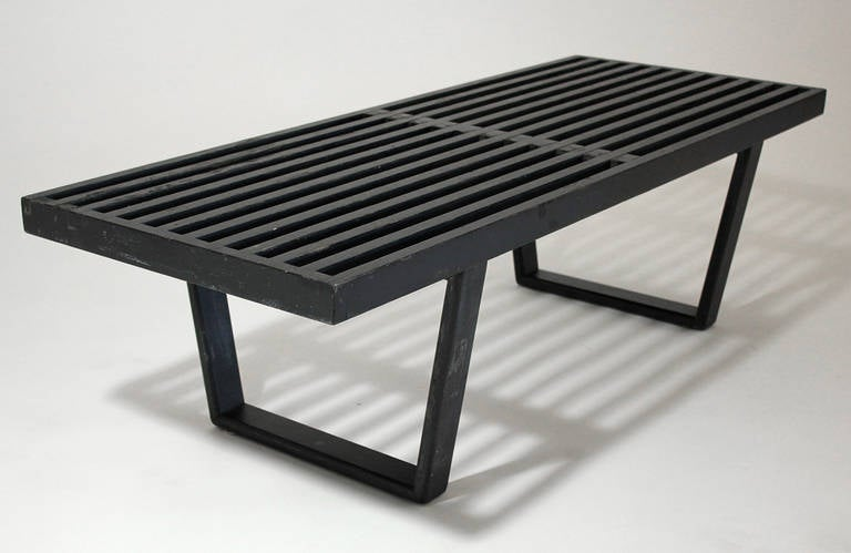 Early George Nelson Bench For Sale At 1stdibs
