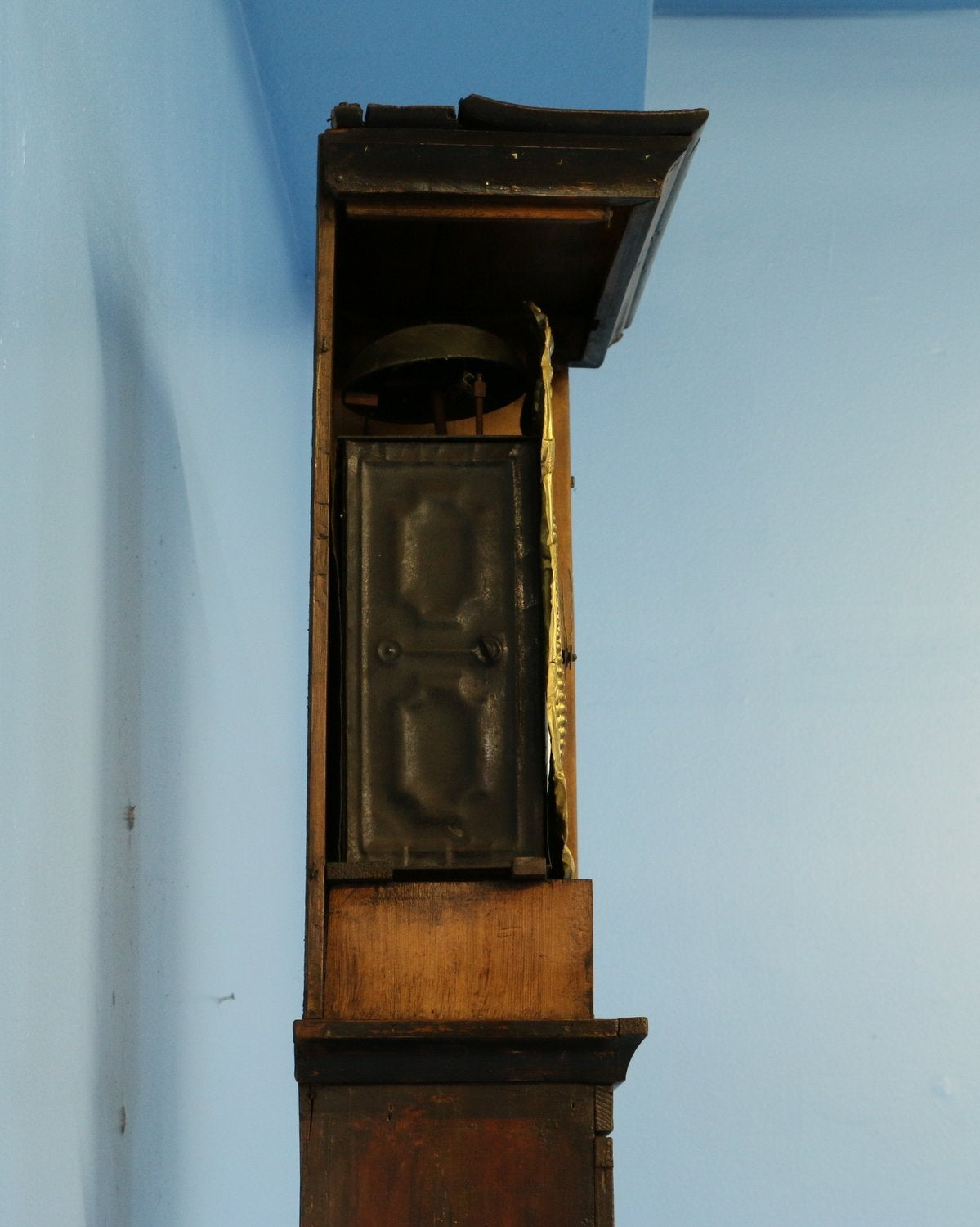 Antique French Morbier Quot Wine Growers Quot Grandfather Clock