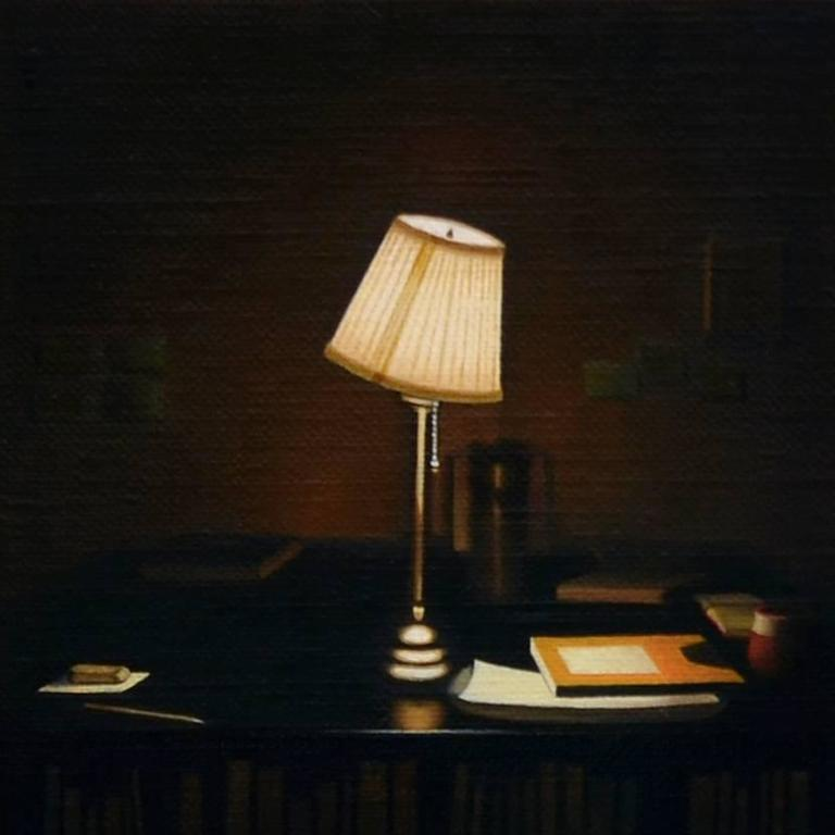 Oil Painting Lamp