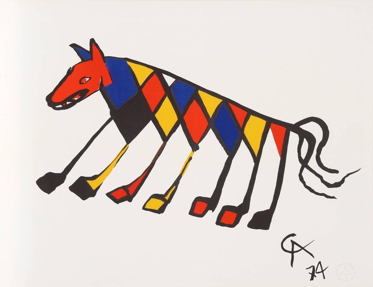 Alexander Calder Flying Colors For Braniff Airlines