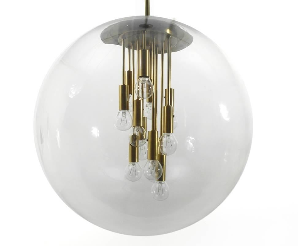 Large Globe Pendant Light