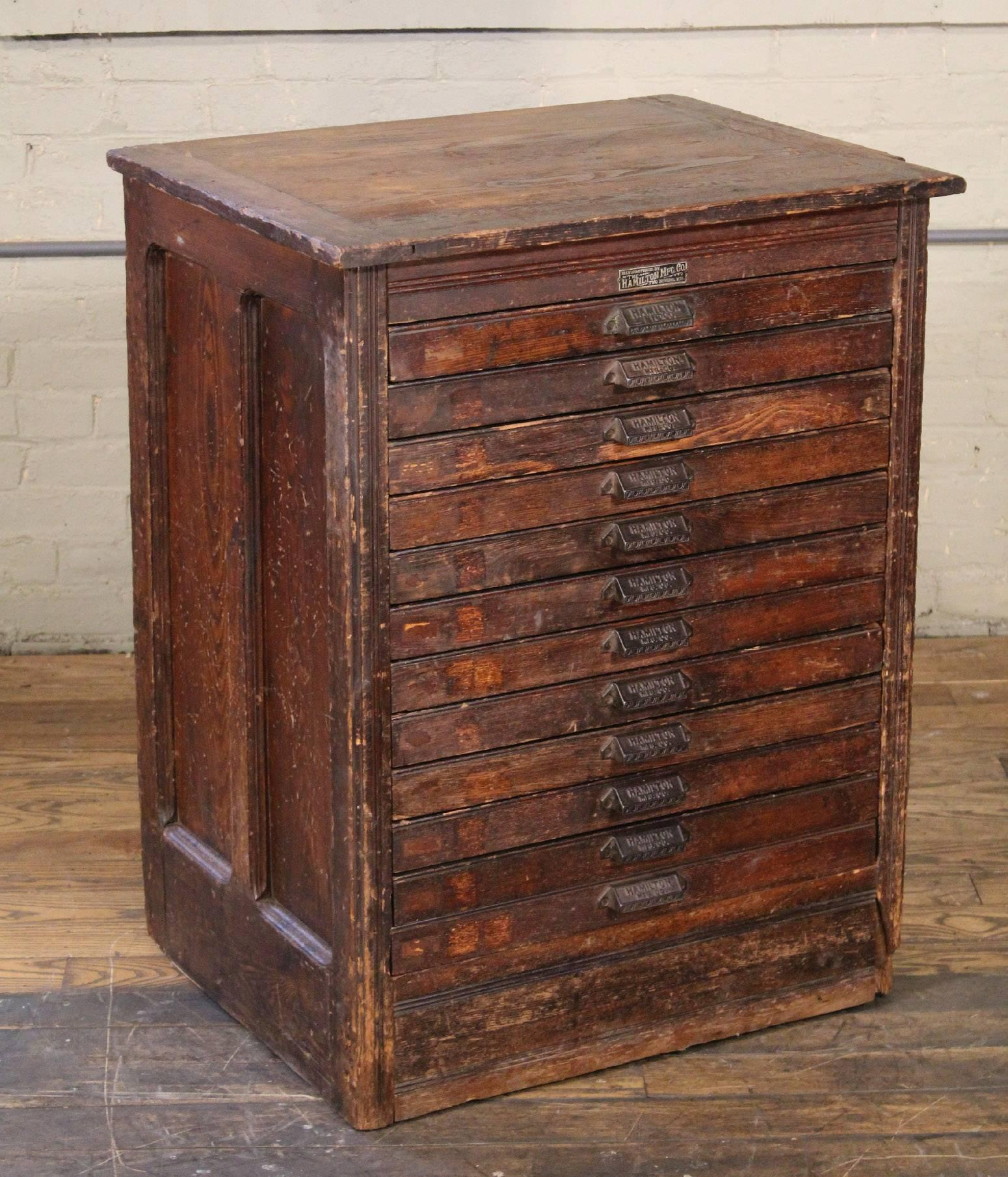 Wooden blueprint file cabinets malvernweather Images