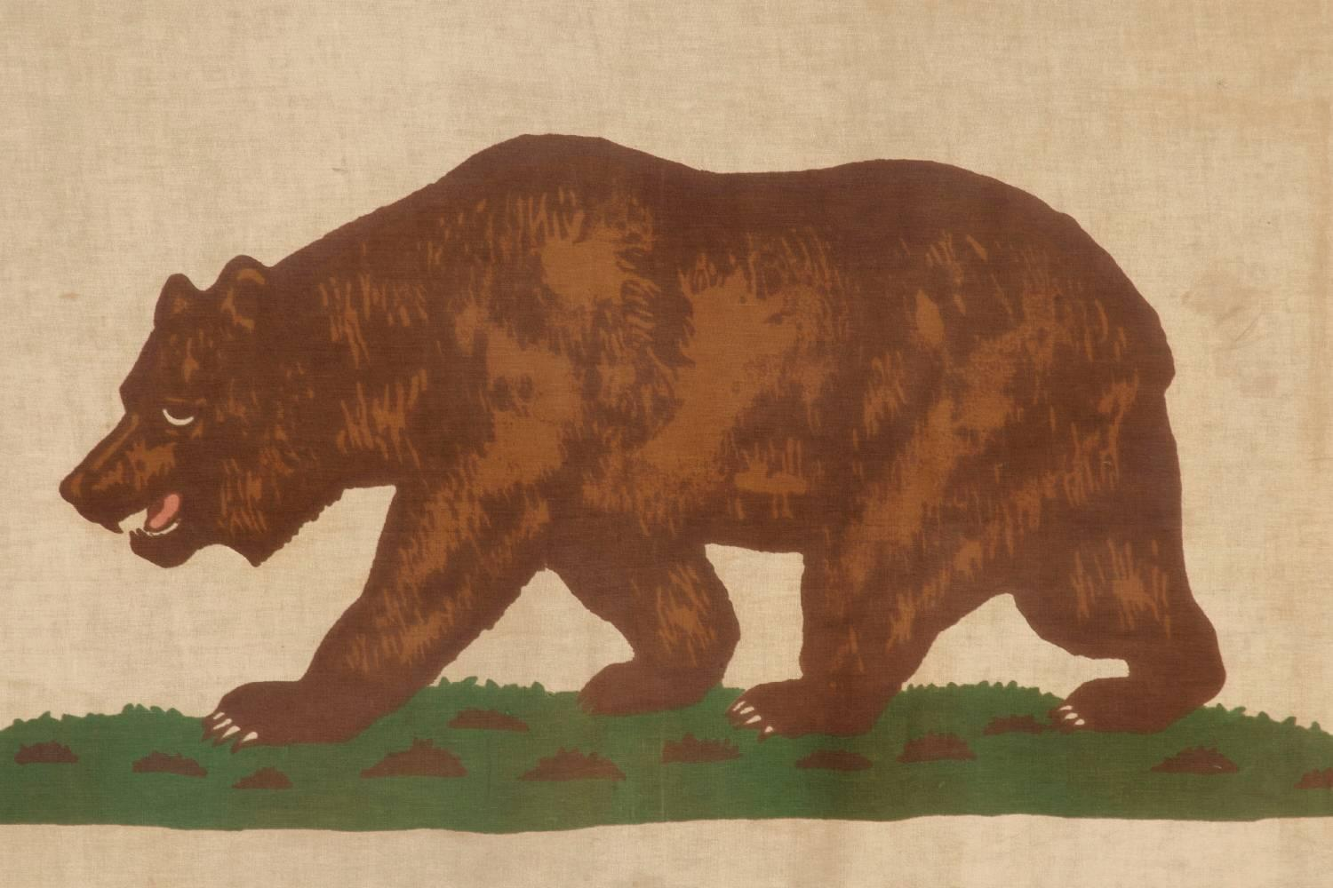 California Flag Bear Original