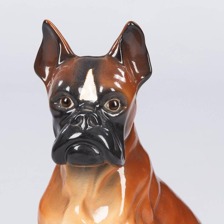 Boxer Ceramic Sculptures