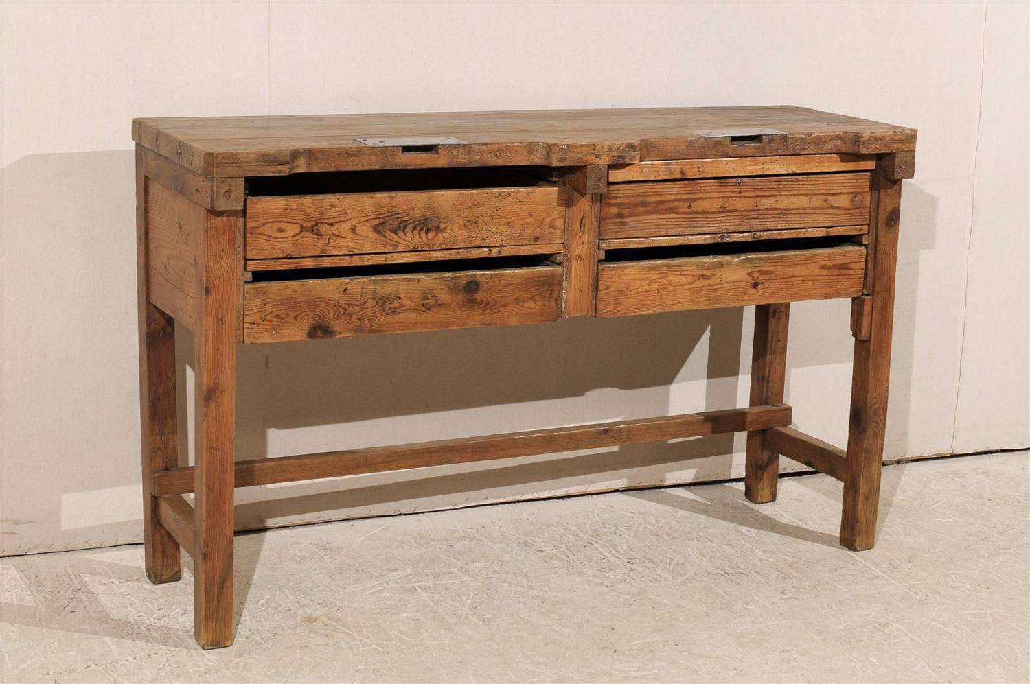 19th Century Jeweler S Table Or Work Bench For Sale At 1stdibs