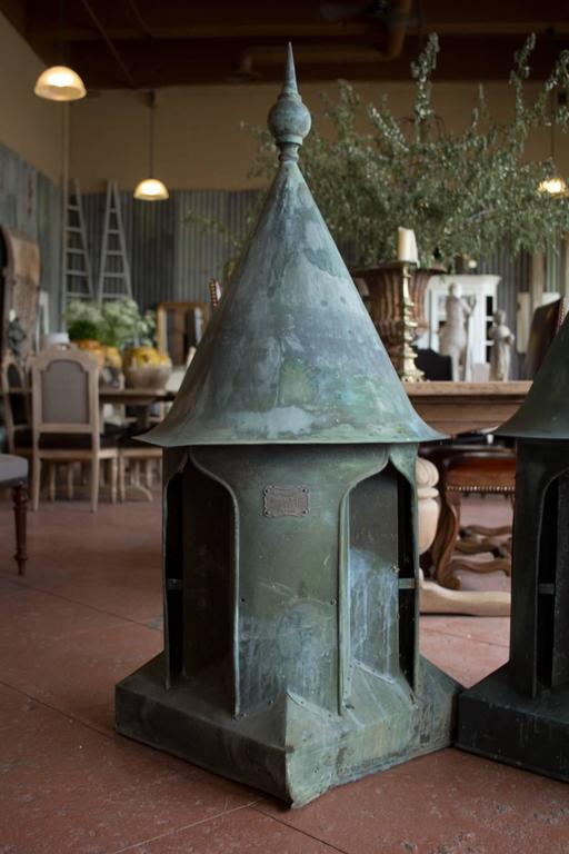 Victorian Copper Roof Vent Cupola At 1stdibs